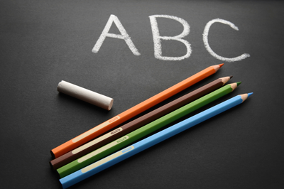 blackboard abc400J